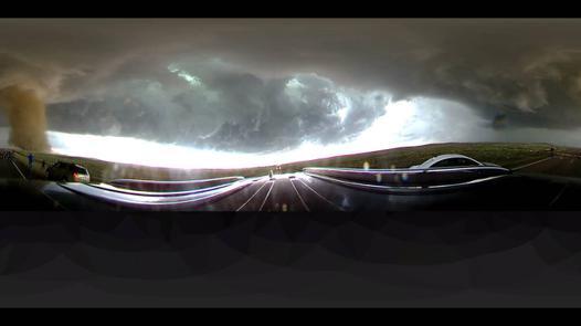 360 tornado video
