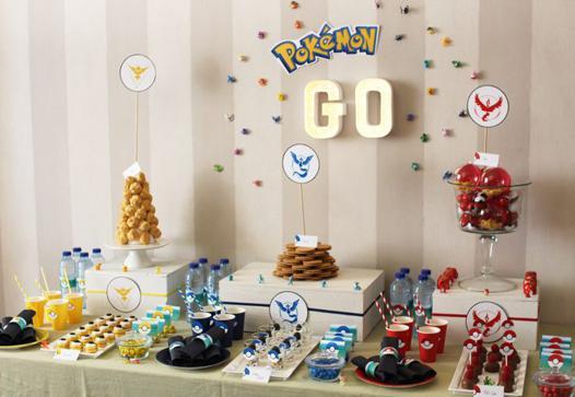 accessoire anniversaire pokemon
