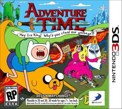 adventure time jeux
