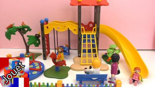 aire de jeux playmobil