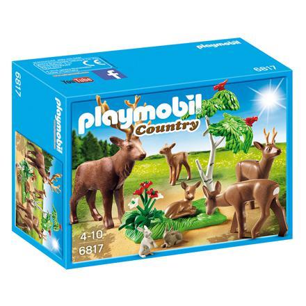 animaux de la foret playmobil