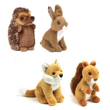 animaux et jouets en peluche