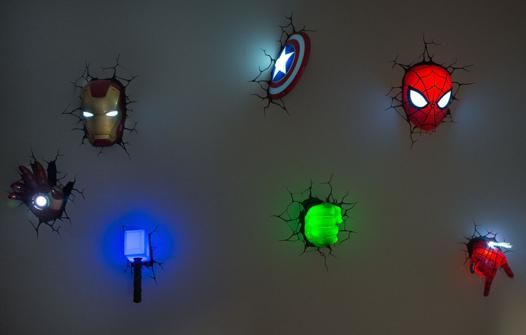 applique murale avengers