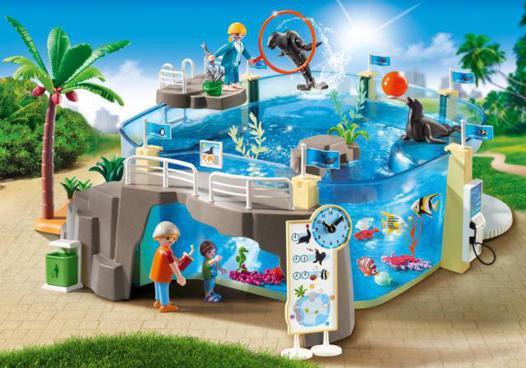 aquarium playmobil 9060