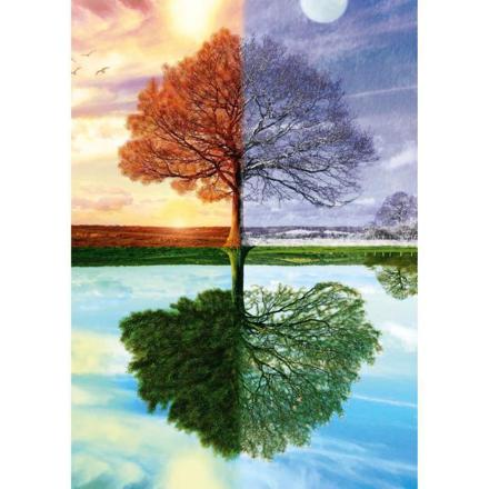 arbre 4 saisons