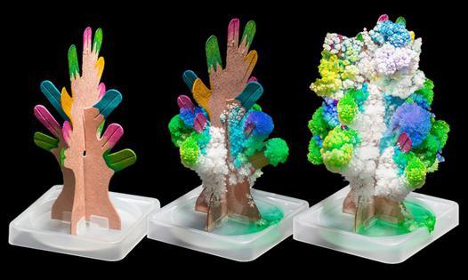 arbres à cristaux magiques