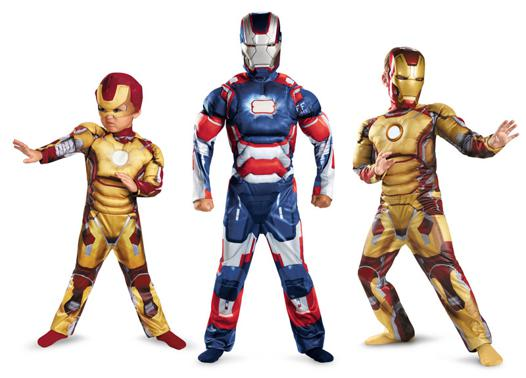 armure iron man enfant