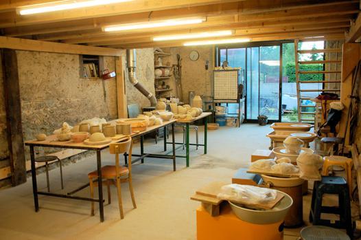atelier de poterie