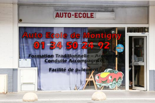 auto ecole montigny