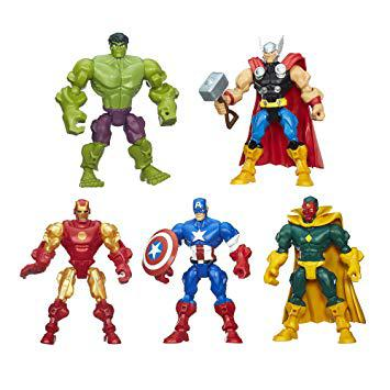 avengers super hero mashers