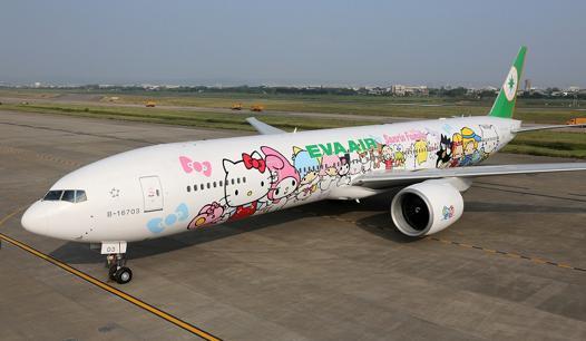 avion hello kitty