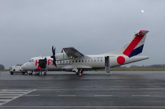 avion lannion paris