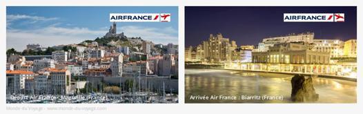 avion marseille biarritz