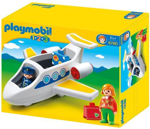 avion playmobil 123