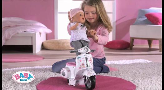 baby born interactif scooter
