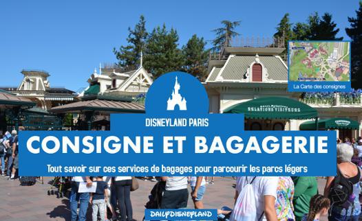 bagagerie disney