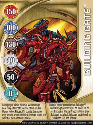bakugan carte