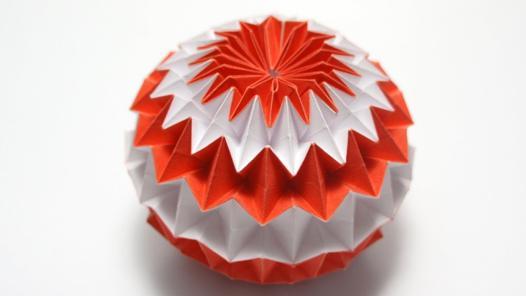 balle magique origami