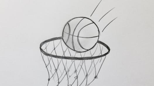 ballon de basket dessin