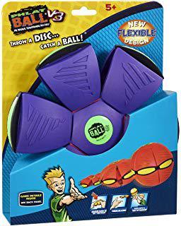 ballon qui se transforme en frisbee