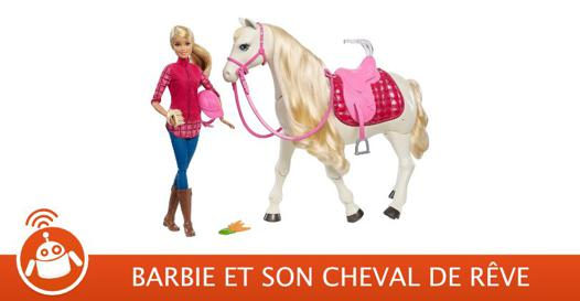 barbie a cheval