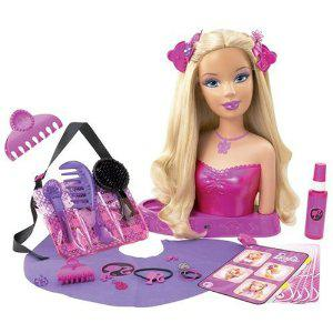 barbie a coiffer