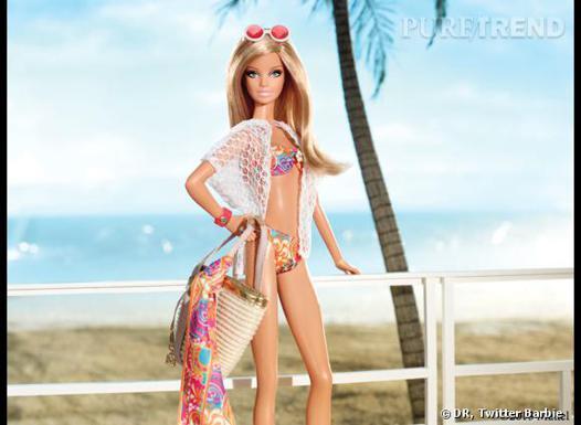 barbie a la plage