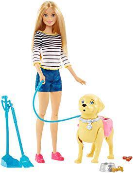 barbie balade chien
