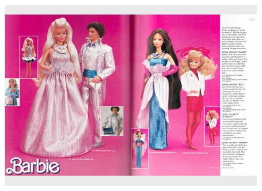 barbie doll catalog