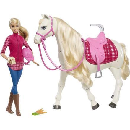 barbie et cheval