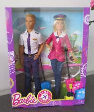 barbie et ken pilote de ligne