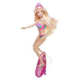 barbie surfeuse sirene