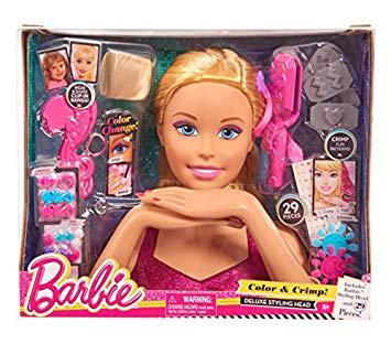 barbie tete a coiffer