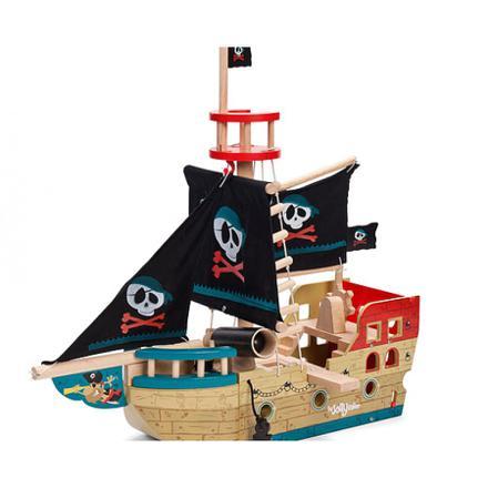 bateau pirate bois