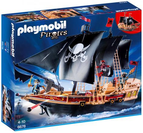 bateau pirate des tenebres playmobil