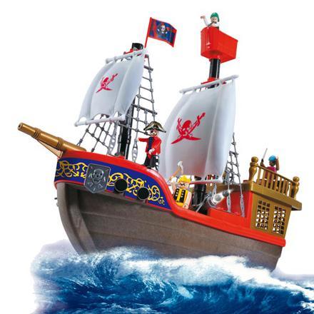 bateau pirate jouet
