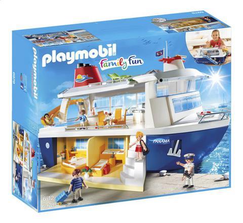 bateau playmobil croisiere