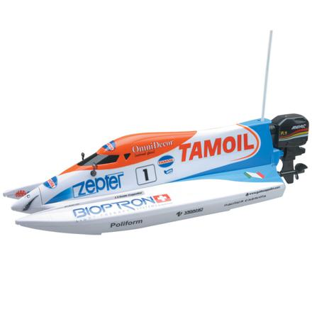 bateau radiocommandé jouet