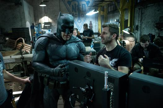 batman on set