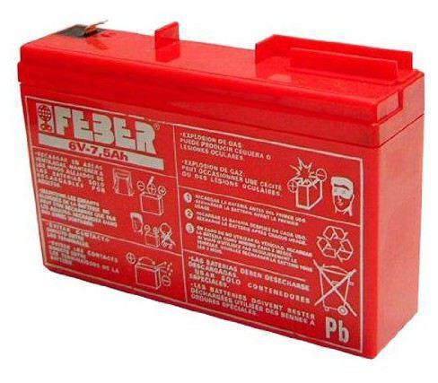 batterie feber 6v