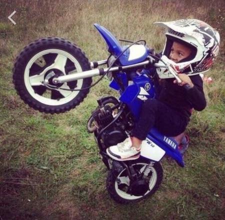 bebe moto cross