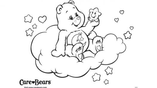 bisounours coloriage