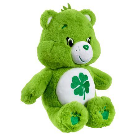 bisounours vert peluche