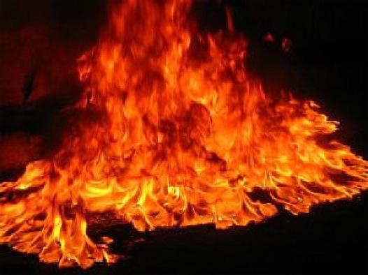 blazing