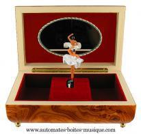 boite a musique en bois avec ballerine