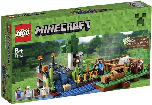 boite lego minecraft