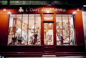 boutique de peluche paris
