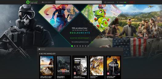 boutique jeux video en ligne