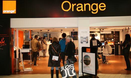 boutique orange la roche sur yon