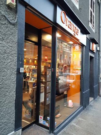 boutique orange sallanches